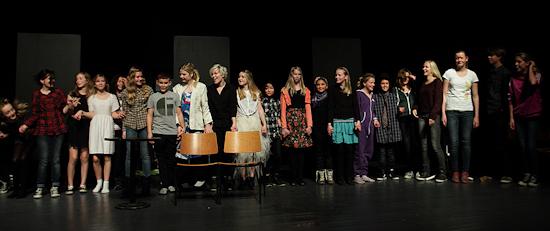 Teaterskole, efterår 2012