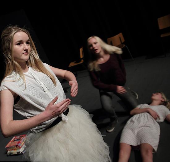 Teaterskole – Efterår 2012