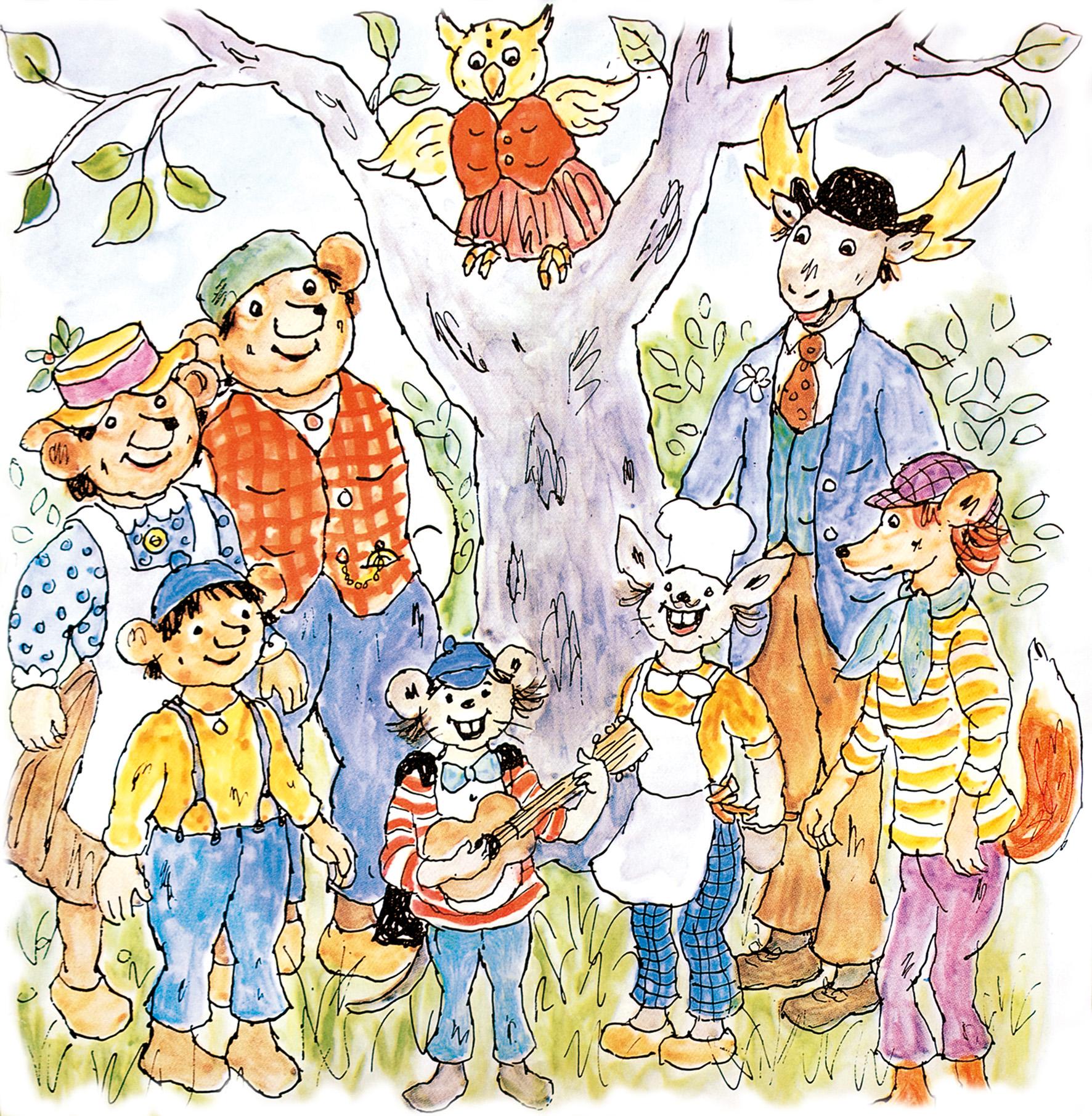 Dyrene i Hakkebakkeskoven