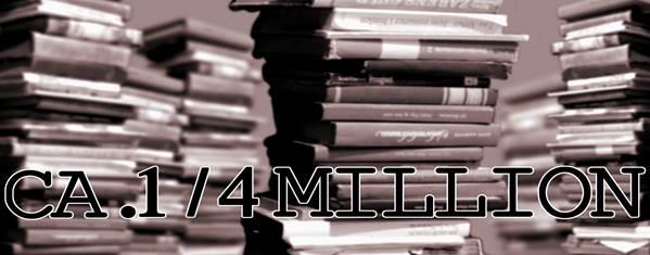 Ca. 1/4 million